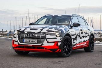 Elektromos autókkal támad az Audi