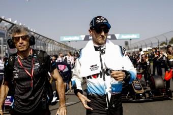 F1: Kubica pánikolt, kínjában nevetett a futamon