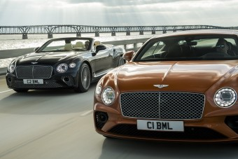 Új motort kap a Bentley Continental GT V8