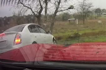 A karma hamarabb utolérte az autóst, mint a Camaro
