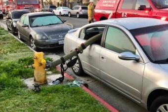 Ezért nem javasolt tűzcsap mellé parkolni