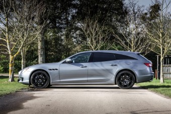 Gördülő szentségtörés ez a dízel, kombi Maserati?