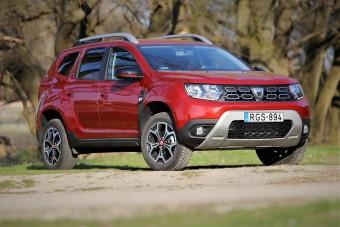 Itt a drága Dacia: Dacia Duster Techroad teszt
