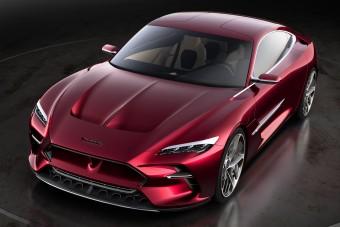Tisztán elektromos luxus-GT, benzinmotorral