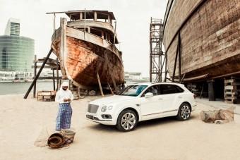 Gyöngyhalászok ihlették ezt a Bentley Bentaygát