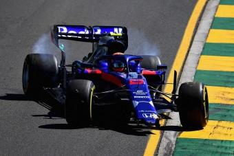 F1: Autótöréssel kezdődött a szezon