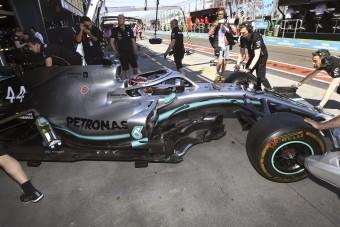 F1: Agyonvert mindenkit a Mercedes