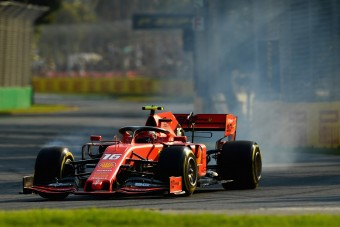 F1: A Ferrari elégedett a csapatjátékos Leclerc-rel