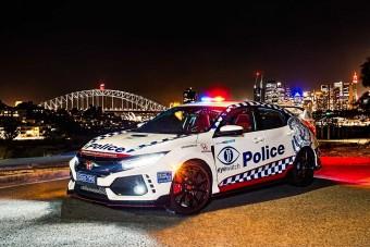 Bitang Hondát kaptak az ausztrál rendőrök
