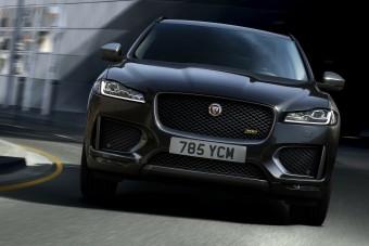 Különkiadásokkal erősít a Jaguar F-Pace