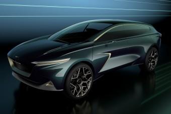 Steampunk léghajó az Aston Martin terepjárója