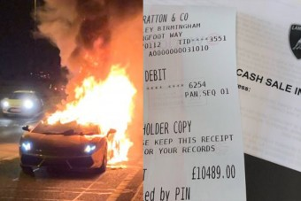 A 3,5 millió forintos szerviz után kigyulladt az autója és szénné égett