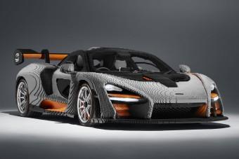 Félmillió elemből készült a LEGO-McLaren
