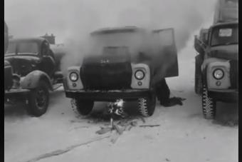 Így indultak a régi orosz gépek -60 fokban