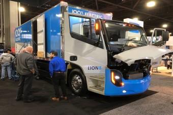 400 kilométert tud ez az új elektromos teherautó