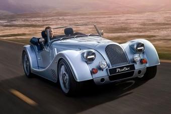 Felrúgva tiszteli a hagyományokat a Morgan Plus Six