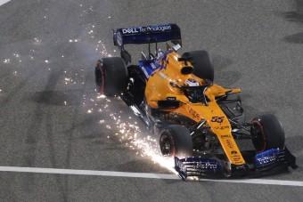F1: Sainz szinte hálás az ütközésért