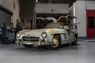 53 évig pihent ez a sirályszárnyas Mercedes 3