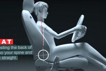 Lehet, hogy eddig rosszul ültél az autóban?