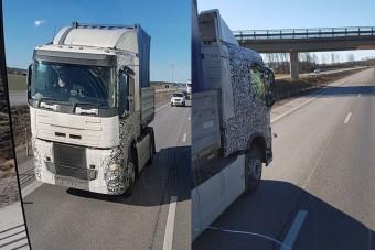Lencsevégre kapták az új Volvo teherautókat