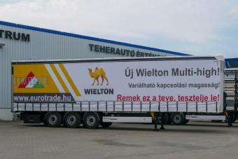 Új félpótkocsi mutatkozott be Magyarországon