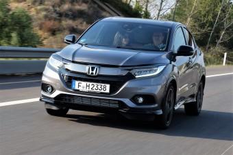 Turbós motor családi mindenesbe: Honda HR-V Sport teszt