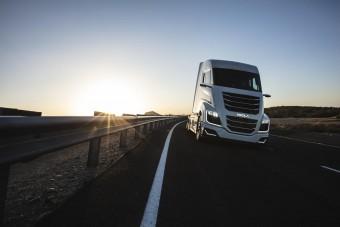 Amerikában eljött a hidrogénnel hajtott teherautók hajnala