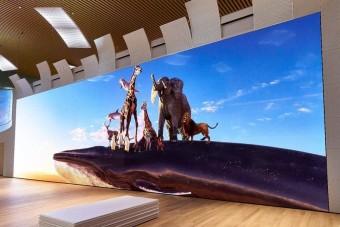 Ez a tévé nagyobb, mint egy Ikarus