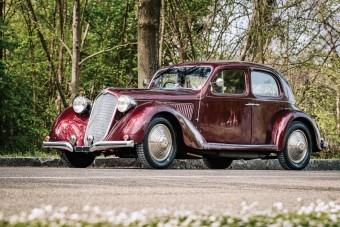 Túlélte a második világháborút is ez az Alfa Romeo