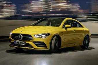 Elkészült a Mercedes négyajtós sportkupéja
