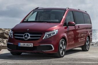Okosabb, elegánsabb, takarékosabb a Mercedes kisbusza
