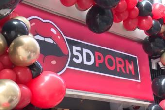 5D-s mozi, ahol felnőttfilmeket vetítenek