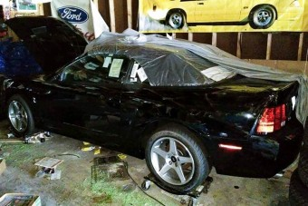 Jobb ötletnek tűnt elrakni ezt a Mustangot, mint vezetni