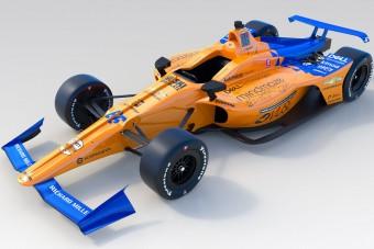 Megmutatták Alonso új McLarenjét