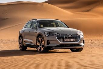 Mégsem megy el 400 kilométert az Audi villanyautója?