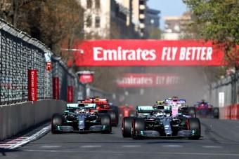 F1: Bottas sakkban tartotta az ötszörös bajnokot