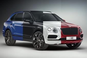 Tiritarka luxusterepjáró a Bentley-től