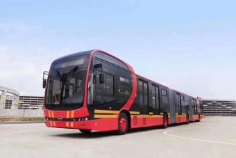 Elkészült a világ leghosszabb elektromos autóbusza