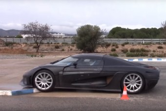 Így tesztelik a méregdrága szupersportkocsikat a Koenigseggnél