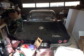 Garázsban leltek rá erre a patinás Corvette-re