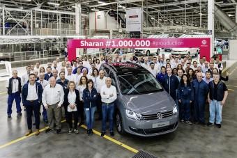 Egymillió darab készült a VW egyterűjéből