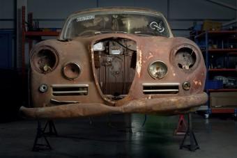 A semmiből építették újjá ezt a Lancia Aureliát