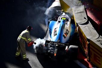 F1: Kubica nagy árat fizetett egy apró hibáért