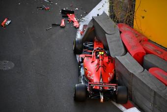 F1: Bottas nyerte a drámai időmérőt Bakuban