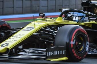 F1: Ugyanaz a lemez forog a Renault-nál