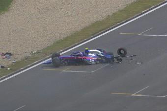 F1: Csúnya baleset az időmérő előtt