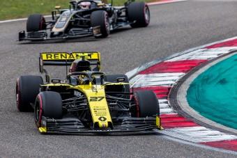 F1: Az új Renault-motor is tönkrement Hülkenberg alatt