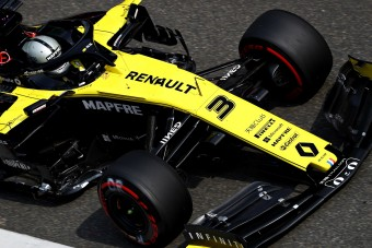 F1: A Renault-ra ráfért már a jó eredmény
