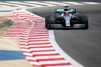 F1: A sereghajtó pilótája az élen a teszten