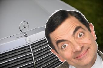 A tiéd lehet Mr. Bean kultikus Mercedese
